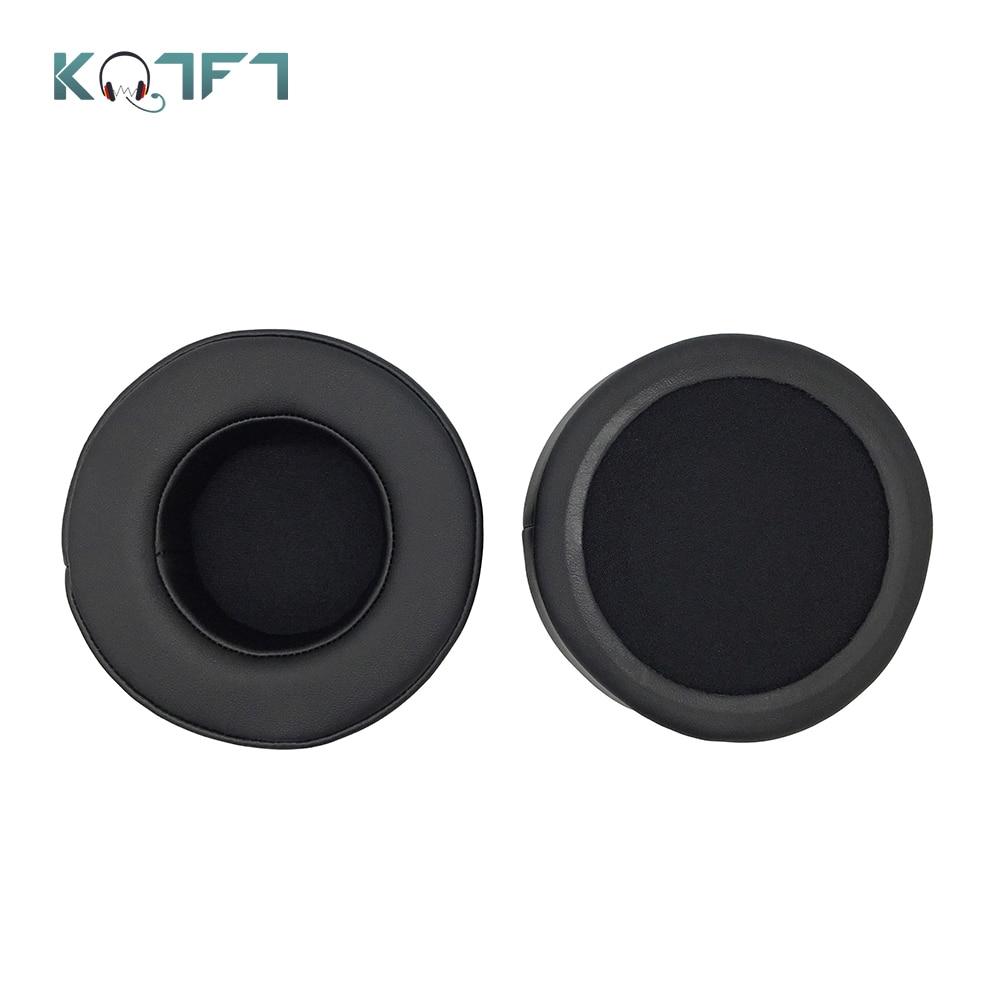 KQTFT Velvet Replacement EarPads for Samson SR 850 SR850 SR-850 Headphones Ear Pads Parts Earmuff Cover Cushion Cups