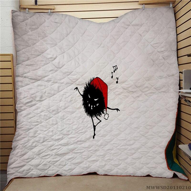 لحاف مطبوع بنمط إبداعي ، منسوجات منزلية فاخرة فائقة النعومة ، ديكور غرفة نوم ، هدية سرير للأطفال