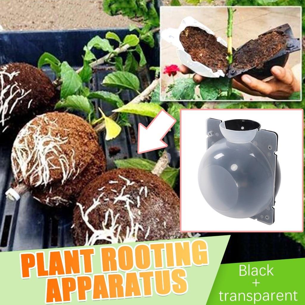 Dispositivo de enraizamiento de plantas de jardín, Bola de alta presión de propagación, caja de alta presión, injerto, maceta de cerámica, árbol bonsái 710