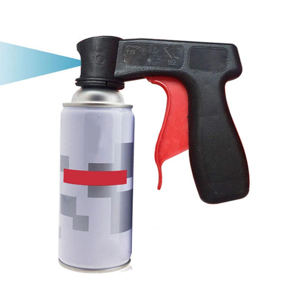 Aerossóis sprays aperto universal gatilho lidar com tinta spray pode lidar com a ferramenta para latas titular caixas de laca titular