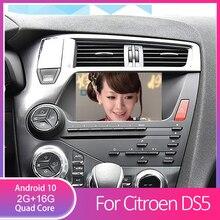 Quad-Core reproductor de DVD de coche para Citroen DS5 con Radio GPS BT enlace espejo WiFi trasero video DVR OBD