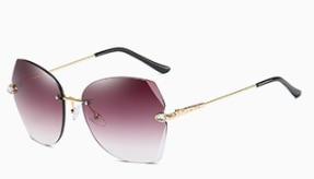 7920     2020 hot new light Sunglasses large frame fashion glasses