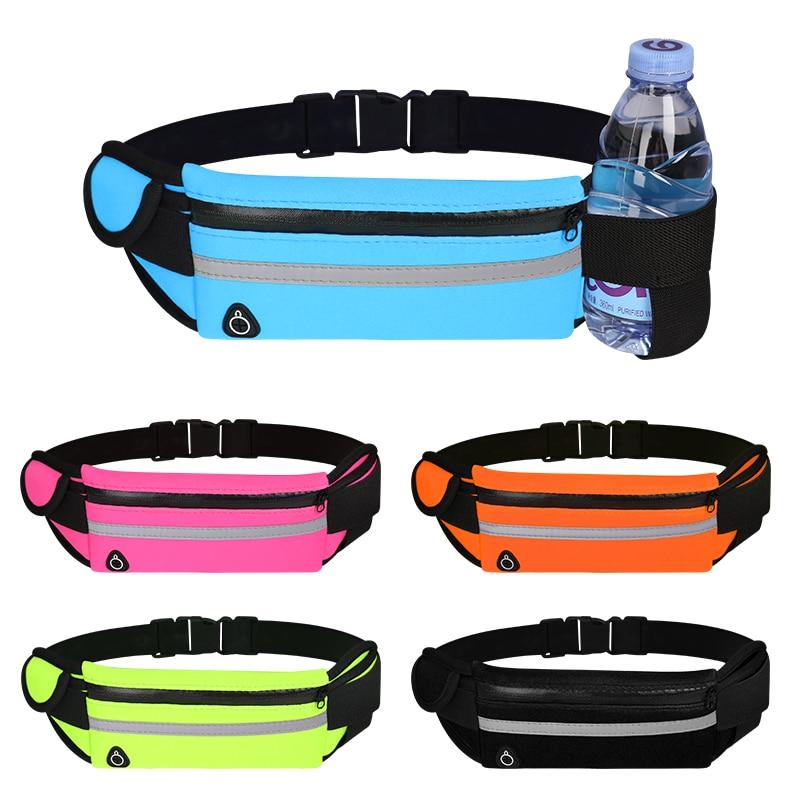 Waist Bag Belt Bag Running Waist Bag Sports Portable Gym Bag Hold Water Cycling Phone bag Waterproof Women running belt