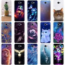 For Huawei Y7 / Y3 2017 / Y5 2017 / Y6 2017 Case 3D Cute Cat Bags Soft Silicone TPU Back Cover For Huawei Y7 Y 7 / Y3 2017 Cases