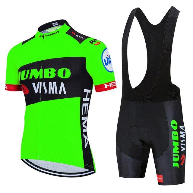 ¡Novedad de 2020! jersey de ciclismo Jumbo visma Pro team lotto, maillot de bicicleta para hombre de alta calidad, ropa de ciclismo de secado rápido mtb de verano
