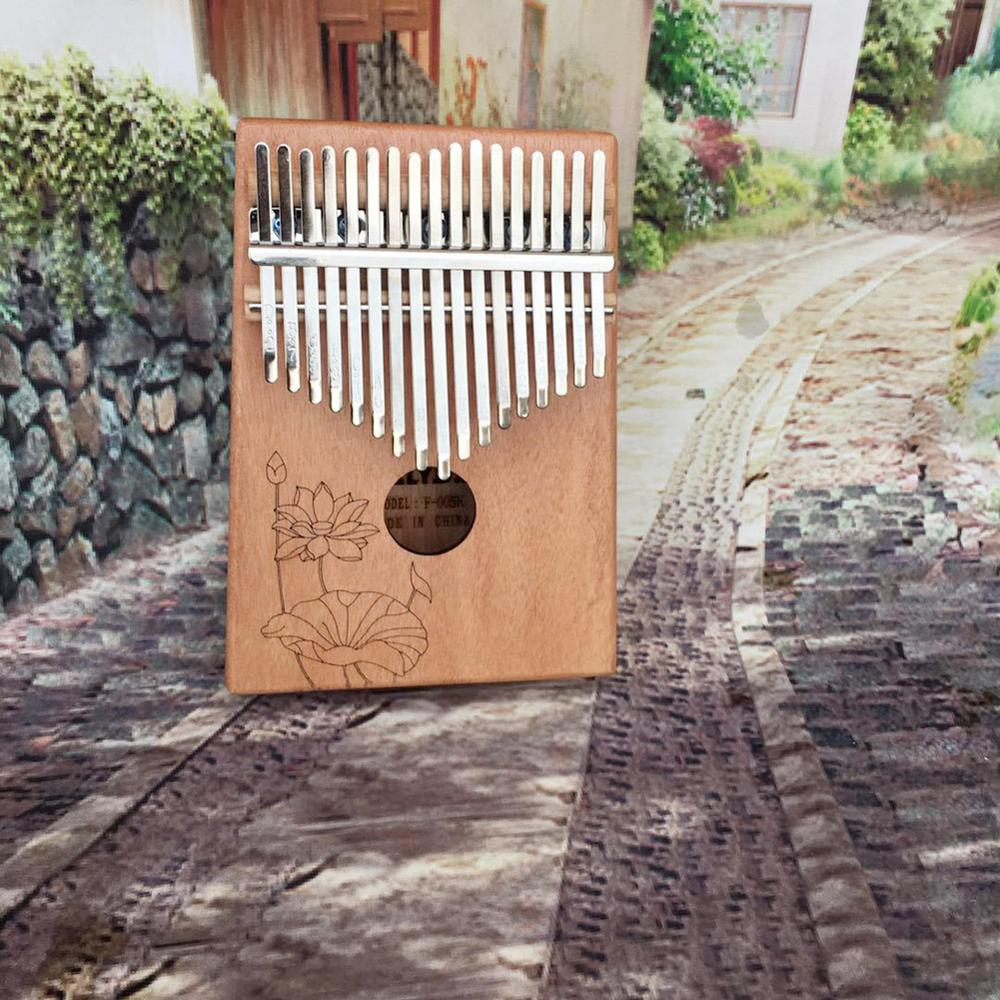 Kalimba 17 key mahogany thumb piano mbira musical Instrument Africa finger piano 30key machine teclado instrumento musical enlarge