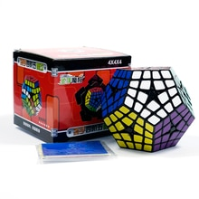 Shengshou Megaminxeds 4x4 Magic-Cube Speed Puzzle Cubes SengSo Kilominx Stickers Cubo magico toys professional 12 sides cube