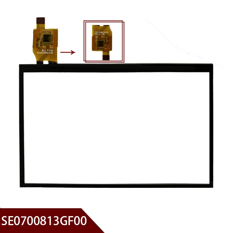 "100% original nuevo 7 ""pulgadas para SE0700813GF00 panel táctil de vidrio tableta pantalla táctil capacitiva digitalizador envío gratis"