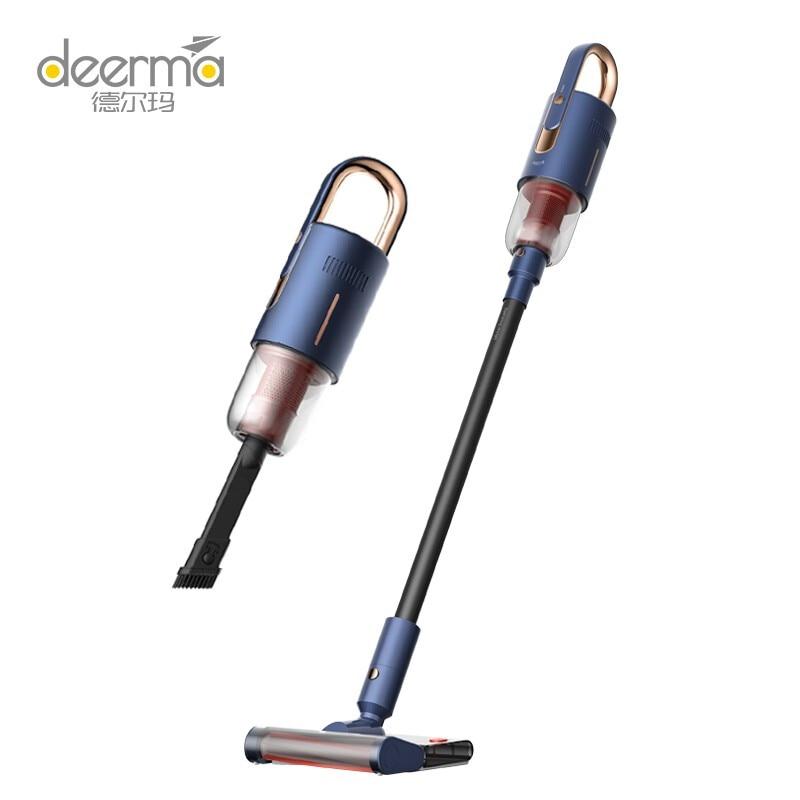 Deerma wireless vacuum cleaner household vertical handheld vacuum cleaner suction and drag integrated car wireles vacuum cleaner