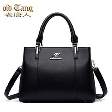 OLD TANG High Quality Leather Fashion Casual Shoulder Bags for Women 2021 New Luxury Designer Messen