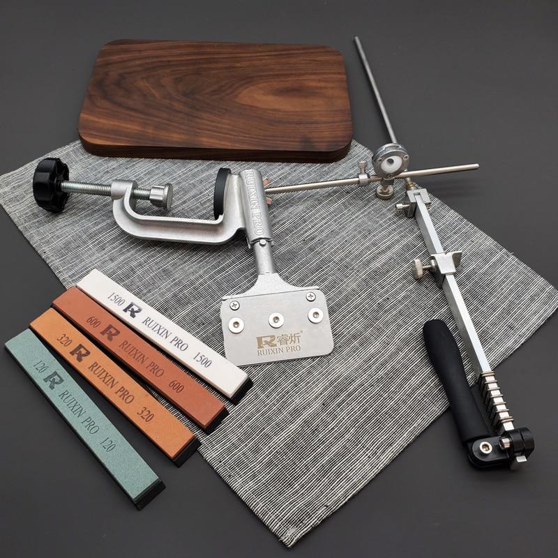 Новейшая фиксированная точилка для ножей, система заточки ножей, белая точилка для ножей alundum, профессиональная точилка для ножей, точильны...