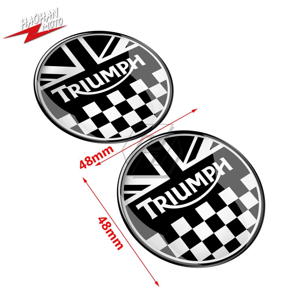 Para Triumph 675 765 Tiger 800 Explorer Decalques 3D Motocicleta Union Jack Corridas Adesivo