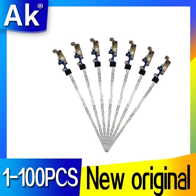 1-100 piezas para DELL para Inspiron 5555 5558 5559 para Vostro 3458 serie botón de encendido y apagado LS-B844P