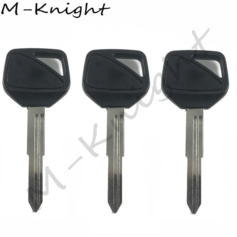 For HONDA CBR600RR F5 CB400 VTEC 1 2 3 4 th CB1300 hornet 600 Key and Keychain Motorcycle keys rings Keys Embryo Uncut Key