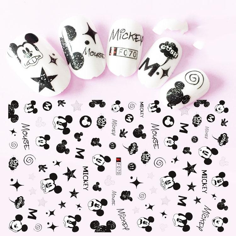 Etiqueta do prego decalques 3d unhas slider arte estrela design decoração manicure dicas folha adesivo envoltórios pegatinas polonês