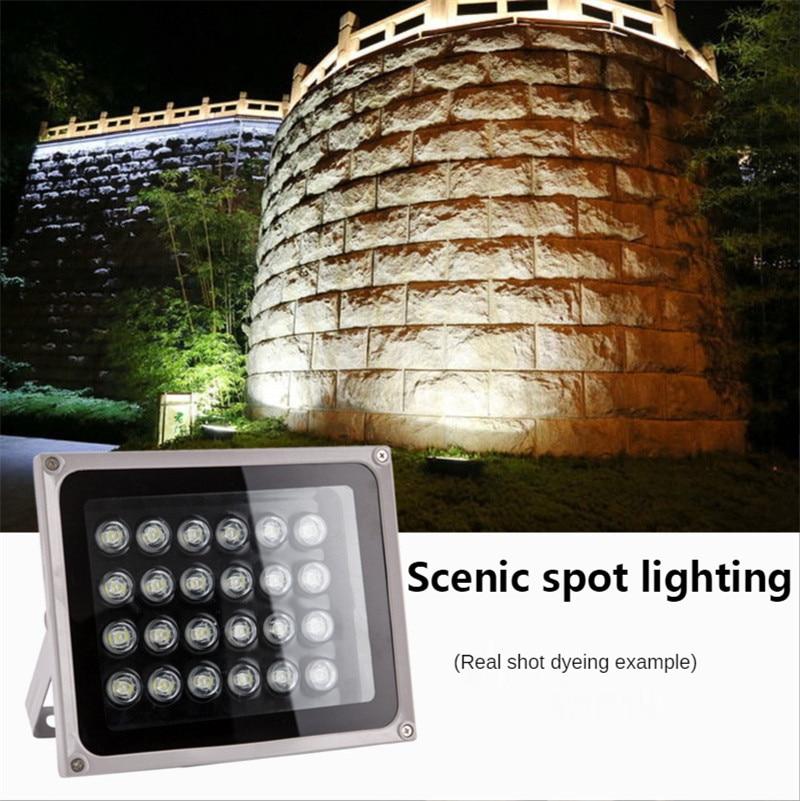 Flood Light Led 12v Wallwasher Outdoor Waterproof Billboard Landscape Lighting Tree Light Spotlight 24V Wall Washer High Power