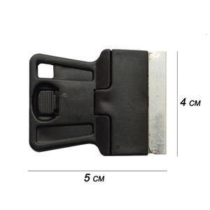 Image 5 - Мини Ручной скребок для бритвы с лезвиями из углеродистой стали, 5 шт., старая пленка, стекло, нож для удаления клея, мобильный телефон средство очистки для экрана планшета 5E18