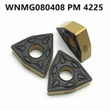 Narzędzie tokarskie WNMG080408 PM 4225 płytka węglikowa wysokiej jakości cylindryczne narzędzie tokarskie tokarka tokarka WNMG 080408 pm4225