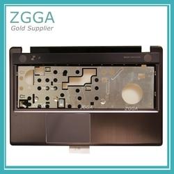 Genuíno novo para lenovo ideapad z580 z585 palmrest caso superior teclado moldura capa com touchpad ealz3006010 3klz3talv00