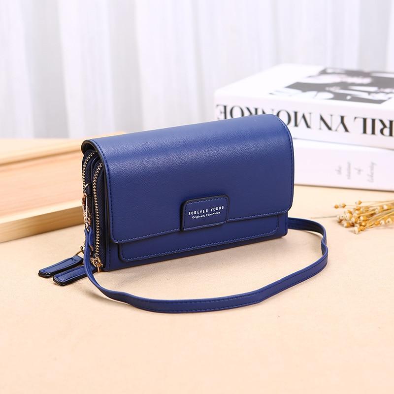 Luxury Women's Shoulder Bags Leather Flap Bag For Women 2020 New Brand Designer Handbags Thick Crossbody Bags Female