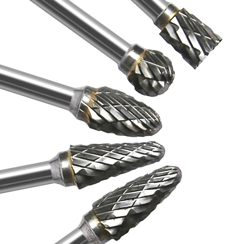 10 stks wolfraamstaal slijpkop wolfraamcarbide boor set mini diamant - Schurende gereedschappen - Foto 5
