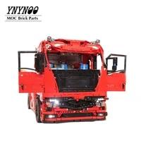 new 4120pcs high tech euro tractor truck moc 4564 building blocks bricks mobile truck power motors functions set diy toys gifts