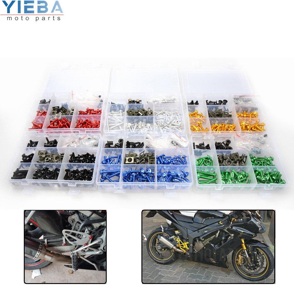 Accesorios para motocicleta, Cuerpo del parabrisas, tornillos de carenado, tuercas, tornillos de sujeción para Kawasaki Ninja 650R ER-6F ER-6N ER6F ER6N