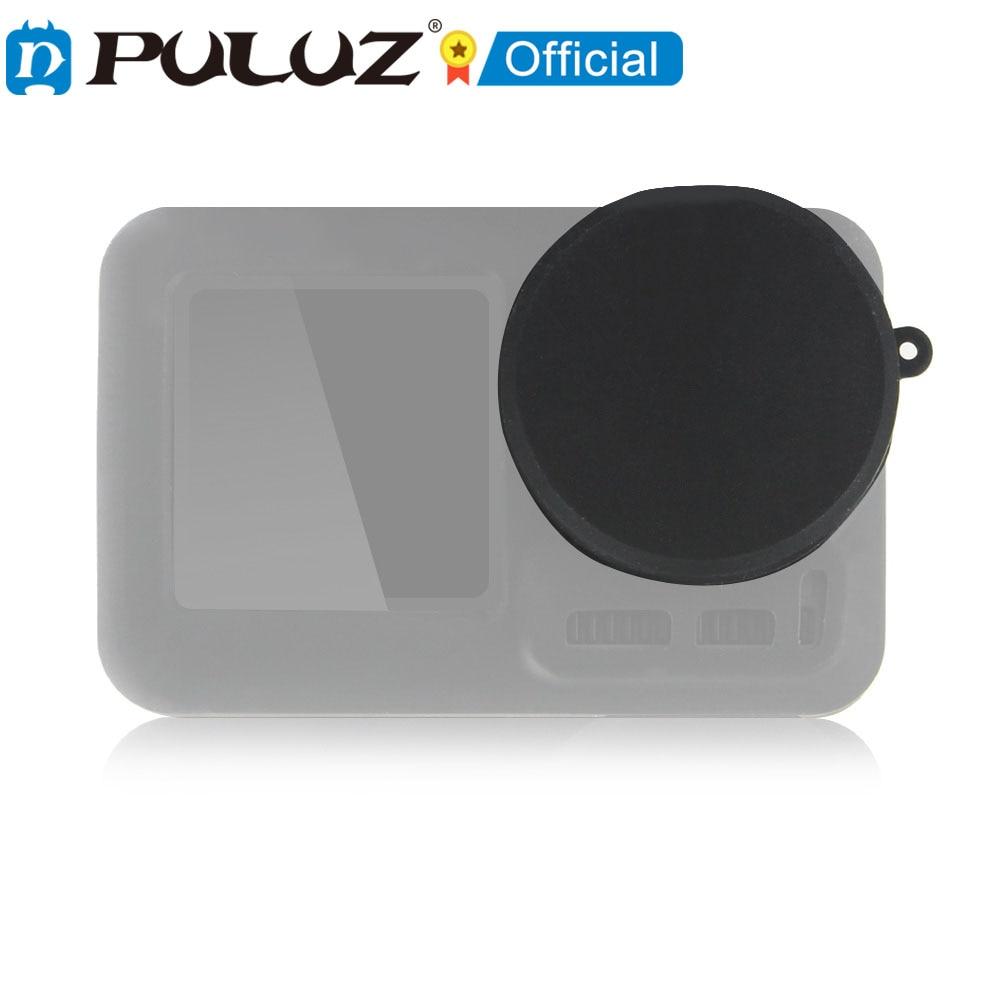 PULUZ-funda protectora de silicona para DJI Osmo... estuche para gafas de accin...