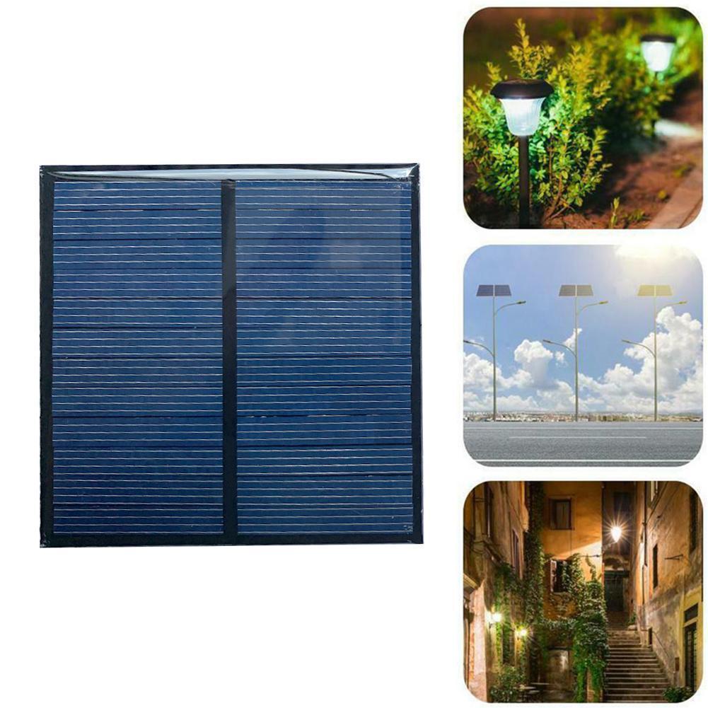 6V Solar Panel Mini Solar System DIY 140MA Solar Panel Battery Solar Solar Cell Battery Portable Charger X7U7