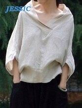 Chemise nouveauté JESSIC femme lad chemise speciale vetement femme Blouse col montant