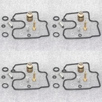 carburetor repair kit needle valve 4 set for zx 6r zx6r zx600j ninja zx600