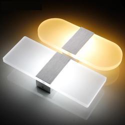 Loja promoção conduziu a luz da parede sala de estar foyer bedroomsquare conduziu a lâmpada de parede moderna led arandela luzes do espelho