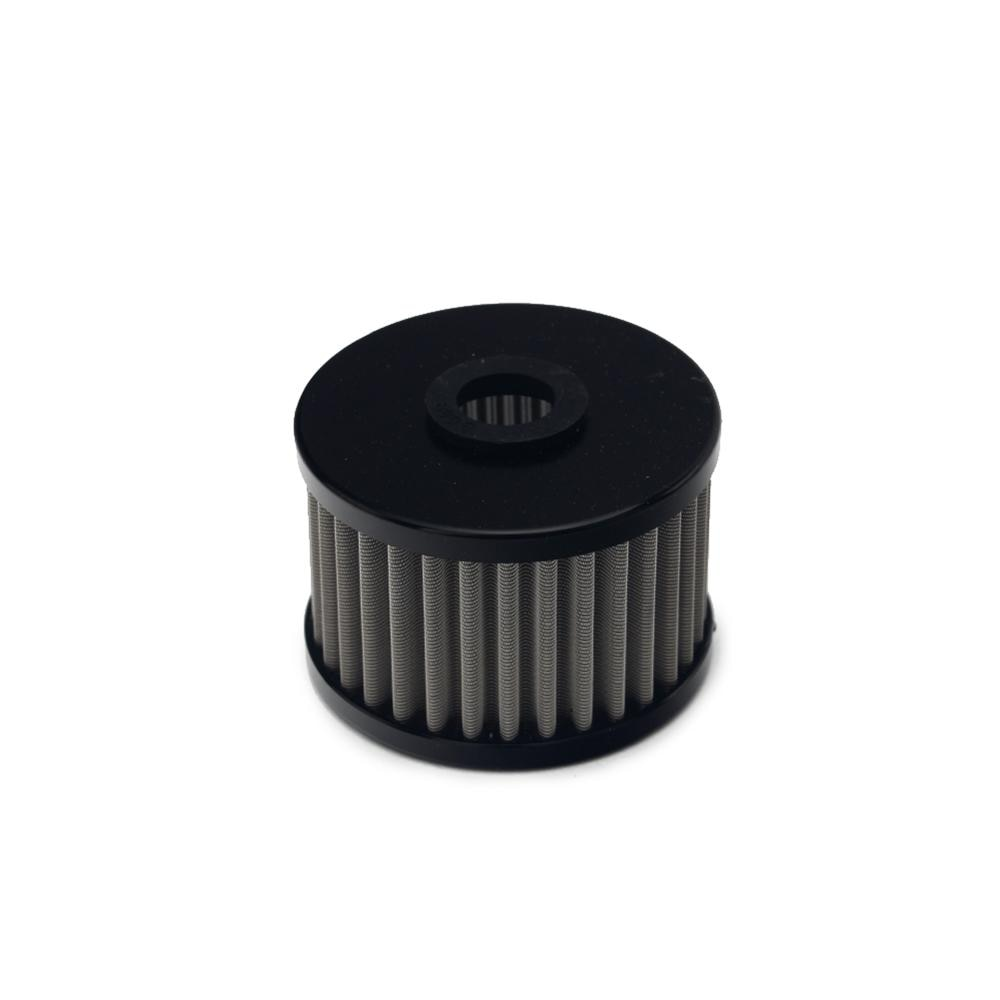Bikingboy atv utv reutilizável filtro de óleo de aço inoxidável para kawasaki kfx 450 r ksf 450 2008 2009 2010 2011 2012 2013 2014