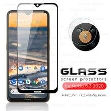 camera protector for nokia 5.3 2020 tempered glass nokia5.3 ta-1234 ta-1223 ta-1227 ta-1229 6.55'' p