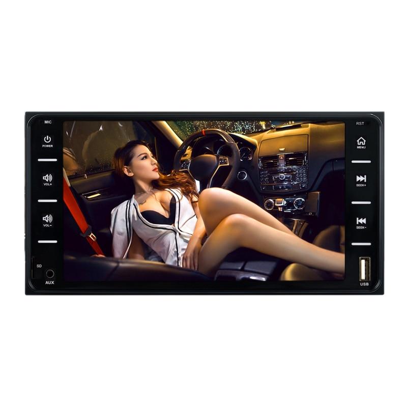 2Din Car Radio Universal Car Multimedia Player 7 Inch Autoradio Mirror Link Bluetooth Audio Radio Stereo MP5 Player for Toyota C