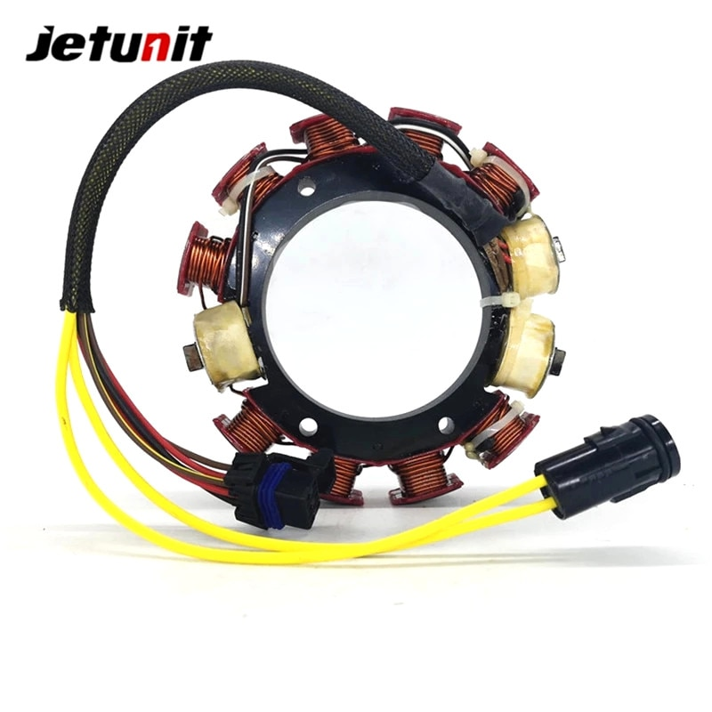Outboard Stator For Johnson Evinrude 6Cyl 1991-2006(150&175HP 60 Degree Engines with Optical Ignition Systems 35AMP)584109 58418 enlarge