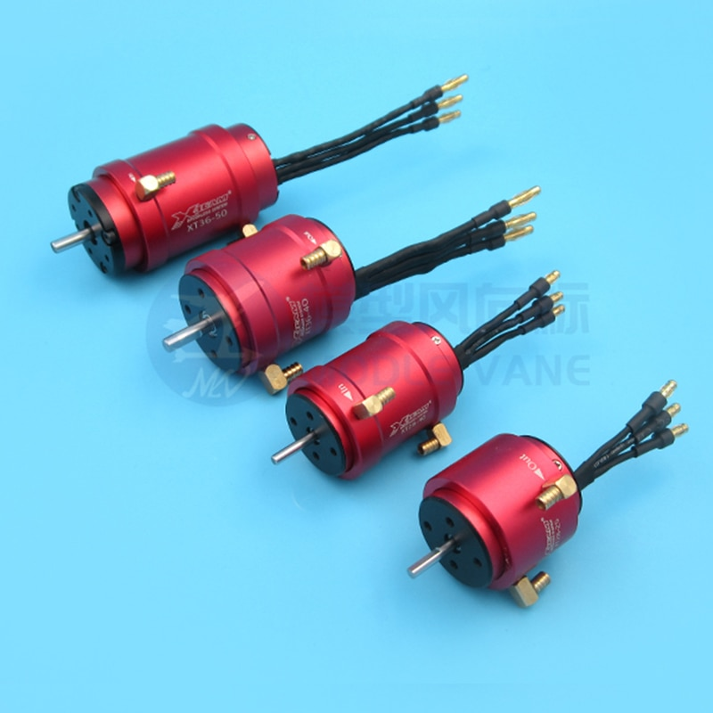 1PC B28 B36 Motor Cooling Jacket Metal Brushless Motors Water Cooled Sleeve 2845/3650 Cooling Ring W M5 M4 Nozzle for RC Boats enlarge