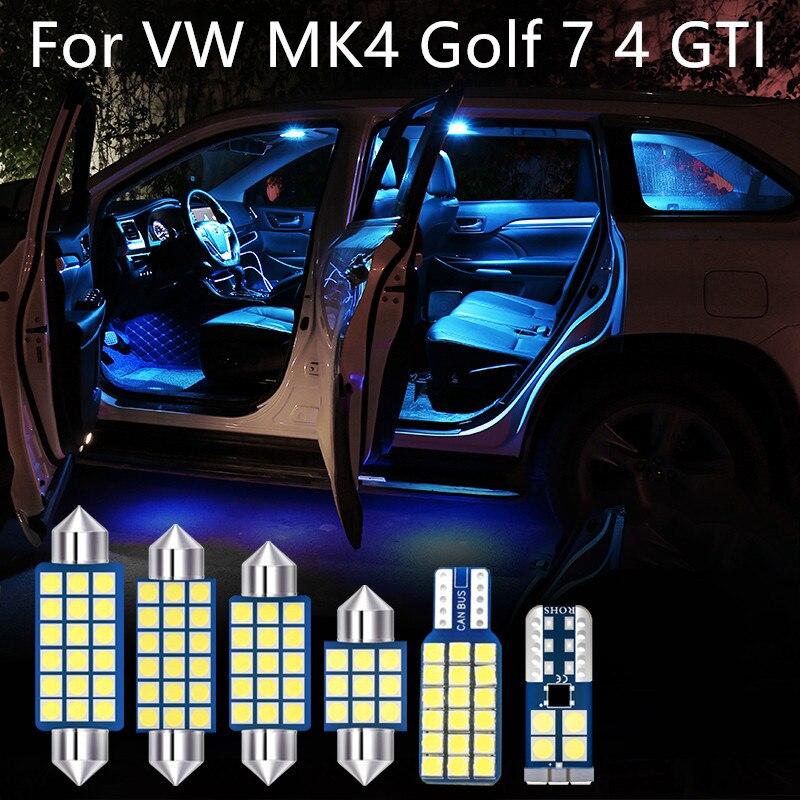 Coche productos accesorios bombilla LED tipo para 1999-2004 Volkswagen VW MK4 Golf...
