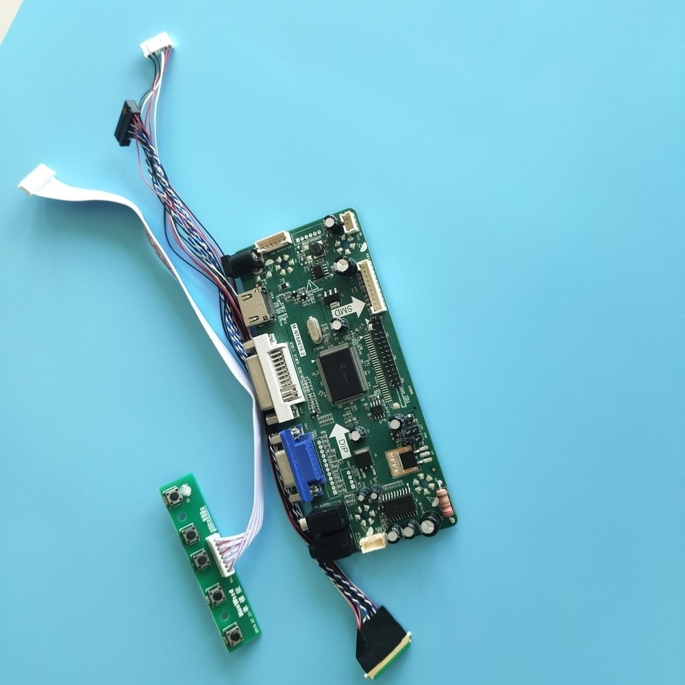 عدة ل B140XTN03 عرض 1366x768 40pin HDMI + DVI + VGA شاشة LCD LED موتور M.NT68676 لوحة 14
