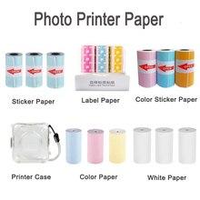 Etichette di Carta termica Adesivo di Carta Carta Per PeriPage PAPERANG Stampante Fotografica