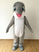 dolphin mascot costume suits cosplay party game dress outfits clothing advertising carnival halloween xmas easter festival