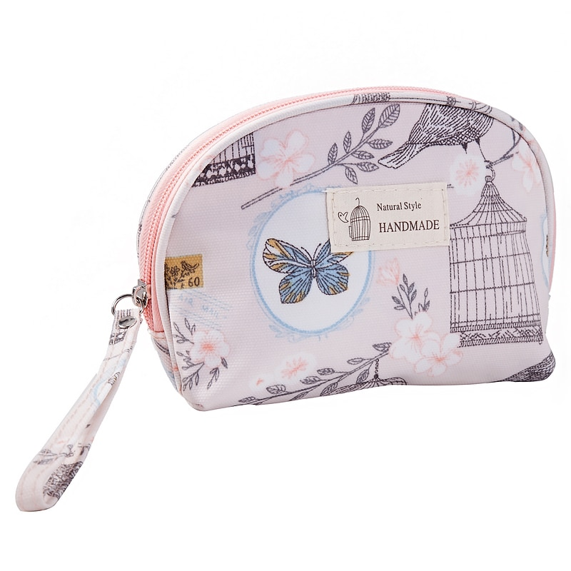 jytop portable multi function waterproof hanging wash bag toiletry bag travel cosmetic bag pouch organizer Women Waterproof Cosmetic Bag Hand Carry Printing Makeup Travel Organizer Toiletry Kits Portable Wash Beautician Pouch