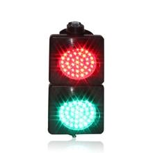 Plastic Lens 100mm AC 110V 220V 230V  Red Green Traffic Signal Light