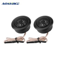 AOSHIKE 2PCS Car Speaker Dome Tweeters 120W 4 Ohm 35 W Audio Loudspeaker Universal DIY Modification For Car Instrument Panel