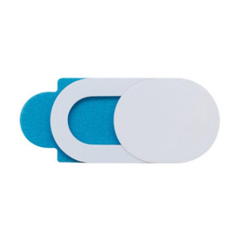 3/6 Uds Webcam cubierta deslizante Ultra delgada cámara portátil cubierta deslizante bloqueador para computadora Tablet PC Cámara teléfono móvil JR de la Dea