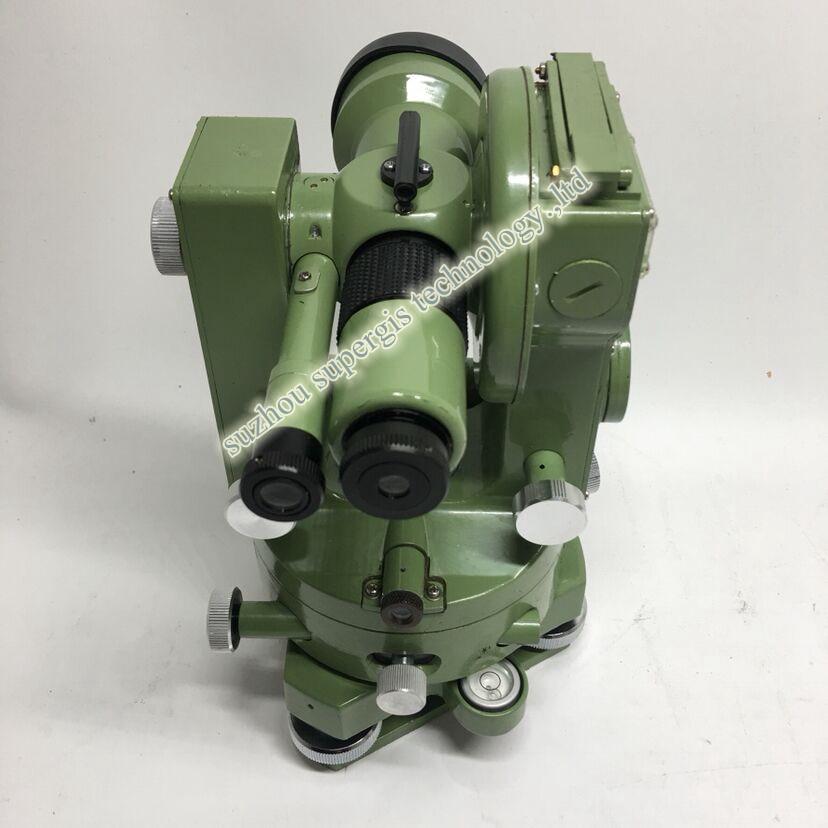 Alta Precisión Geographic Surveying meking Optical Theodolite mecánico theodolite DJ6E precio
