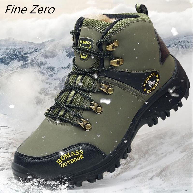 Men Waterproof Hiking Shoes Breathable Tactical Combat Army Boots New Outdoor Climbing Shoes Non-sli