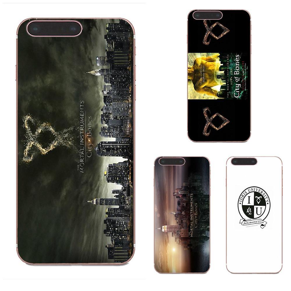 Encantador para Xiaomi CC9 CC9E Mi 3 4 4i 5 5S 6 6X 8 9 SE jugar Plus Pro Lite A1 mezclar 2 nota 3, la ciudad de instrumentos mortales de huesos