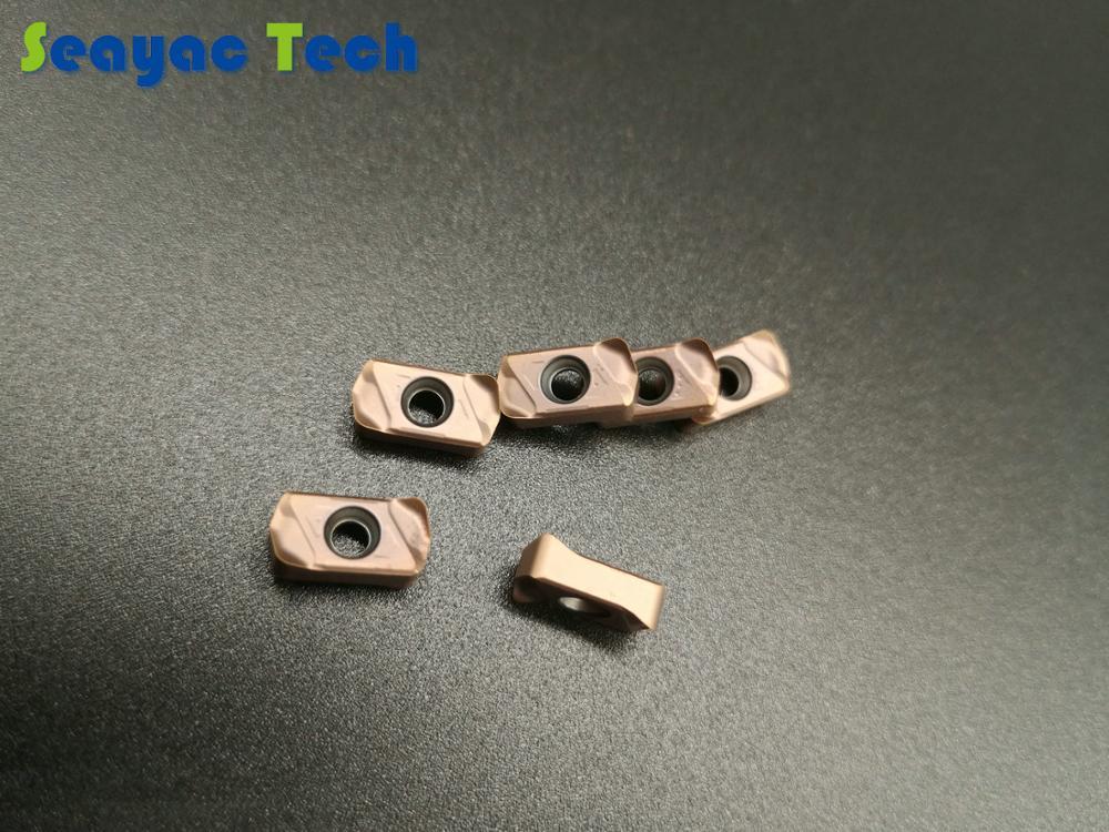Insertos de carburo de tungsteno de alta calidad reemplazar Tungaloy LNMU0303ZER con cortador de fresado de alta velocidad