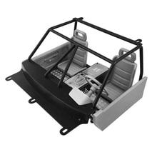Version à deux portes TF2 Mojave corps Shell cabine intérieur ensembles assemblée pour 1/10 échelle télécommande jouets voiture RC4WD TF2 pièces de mise à niveau